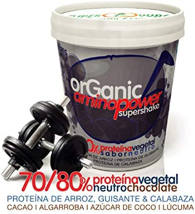 Energy Feelings Proteina Vegana Ecológica | 80% Proteína | Proteína Sabor Neutro - Sin Sabor | con Proteína de Arroz, Cáñamo y Guisante | Rica en BCAA ...