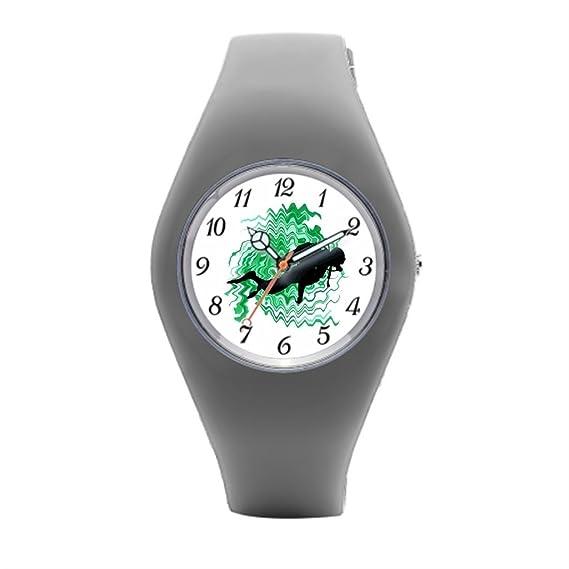 Relojes deportivos para mujer West Florida Kids de goma relojes: Amazon.es: Relojes