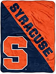 """Officially Licensed NCAA Halftone Micro Raschel Throw Blanket, 46"""" x 60"""", M"""
