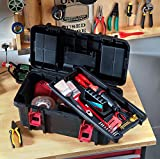 "Keter Classic Tool Box 19"" Plastic Portable"
