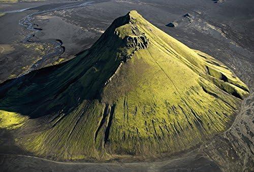 maelifell montaña es del norte de volcán Katla en Myrdalsjokull glacier, Iceland.: Amazon.es: Juguetes y juegos