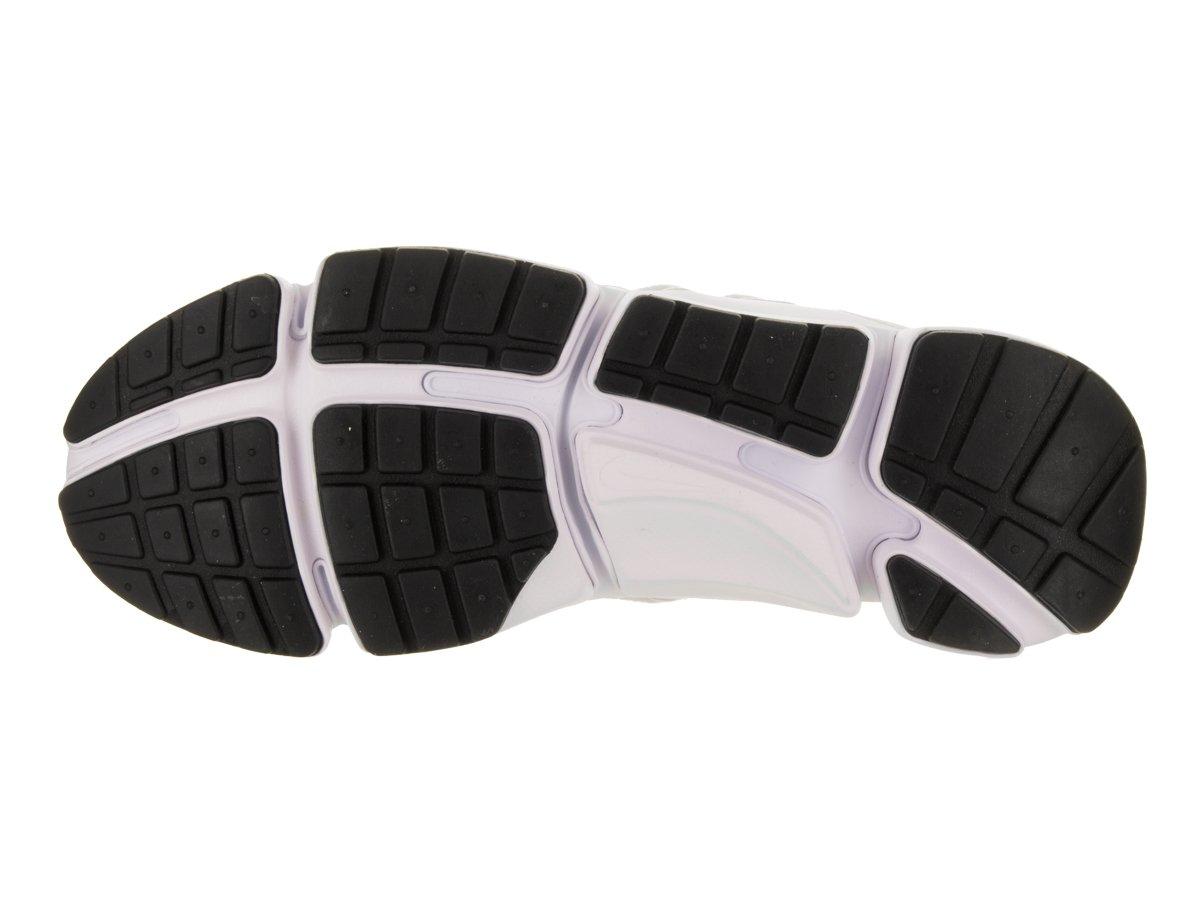 NIKE Mens pocketknife DM White/White/White/Black Running Shoe 12 Men US