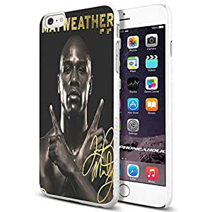 diy zhengFloyd Mayweather the Champion, Boxing, Boxer,Cool Ipod Touch 5 5th Smartphone Case Cover Collector iphone TPU Rubber Case White