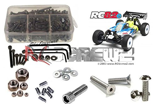 RCScrewZ Associated RC8.2e Stainless Steel Screw Kit #ass045