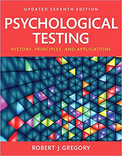 Psychological Testing: History, Principles and Applications ...