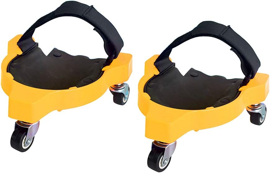 Flexible Gliding Knee Protection Pad with Wheels for Garden Cozyhoma Rolling Knee Pads 1Pcs Work Construction Site