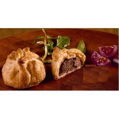 Cuisine Innovations Appetizer Tenderloin of Beef En Croute - 100 per case. (Beef Tenderloin Mushroom)