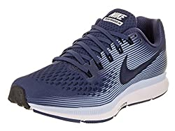 Nike Women's Air Zoom Pegasus 34 Running Shoe Blue Recallobsidianroyal Tintblack Size 9 B Us