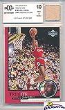 1999 Upper Deck Tribute Michael Jordan Card with a