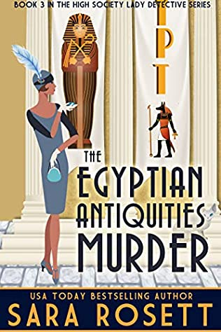 book cover of The Egyptian Antiquities Murder