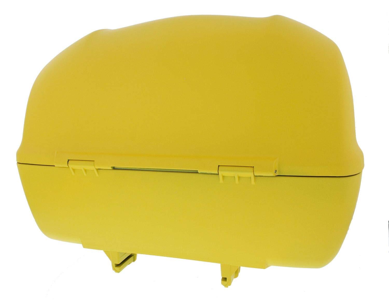 Sprint Elettrica Rot Profondo 896//A VESPA Topcase 32 Liter Primavera matt