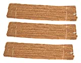 Happy House Garden Twine, 150 feet (50 feet @ 3 Hanks), Made of Coir Fiber
