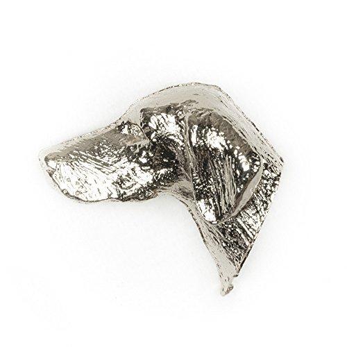 DOG ARTS JP HUNGARIAN VIZSLA Made in U.K Artistic Style Dog Clutch Lapel Pin Collection ()