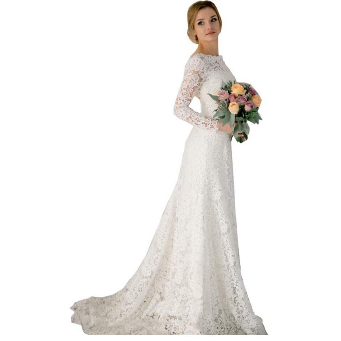Retro Wedding Dresses.Long Sleeve Retro Wedding Dress Lixnet Ag