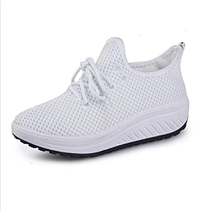 b71971bcf8b45 Amazon.com: Exing Womens's Shoes New Sneakers/Wild Mesh Casual Shoes ...