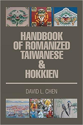 Amazon com: Handbook of Romanized Taiwanese & Hokkien (9781503541054