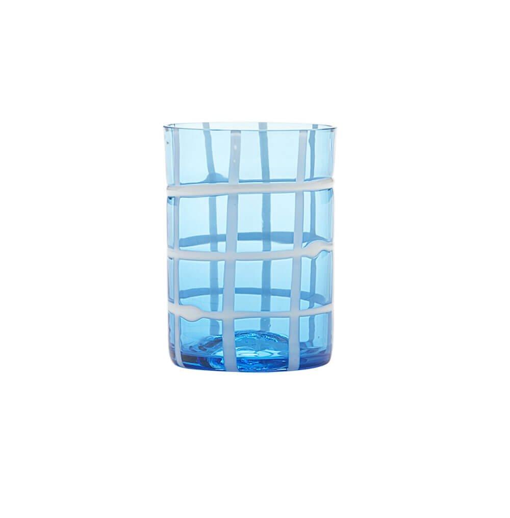Set 6 Zafferano Twiddle tumbler aquamarine