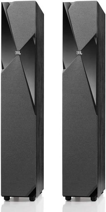 JBL Studio 190 Dual 6.5-Inch Floorstanding Loudspeaker Each, Black Discontinued by Manufacturer