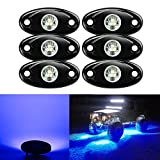 Kyпить 6 Pods LED Rock Lights Kit, Ampper Waterproof Underglow LED Neon Trail Rig Lights for Car Truck ATV UTV Baja Raptor Offroad Boat Trail Rig Lamp Underbody Glow (Blue) на Amazon.com