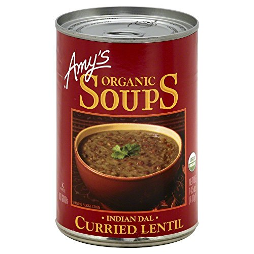 (Amy's Organic Curried Lentil Soup 14.5 OZ(Pack of 3))