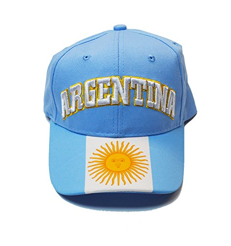 Argentina Cap Hat Any Sports Soccer World cup Mens Adults (1)
