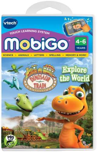 VTech MobiGo Software Cartridge - Dinosaur ()
