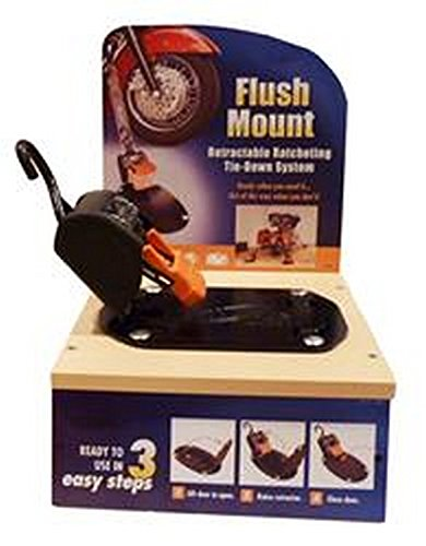 RV Trailer LOCK N LOAD Bike Buckle-Flush Mount - F18804 Tie Down (Bike Buckle)
