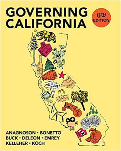 Governing California Book Cover
