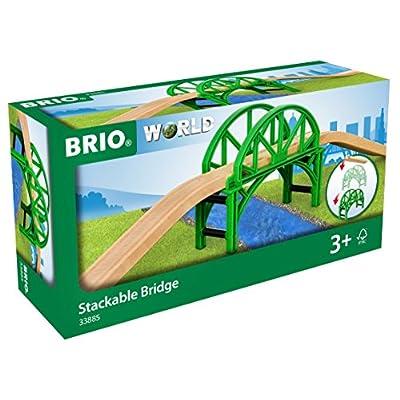 Brio World - Stackable Bridge: Toys & Games
