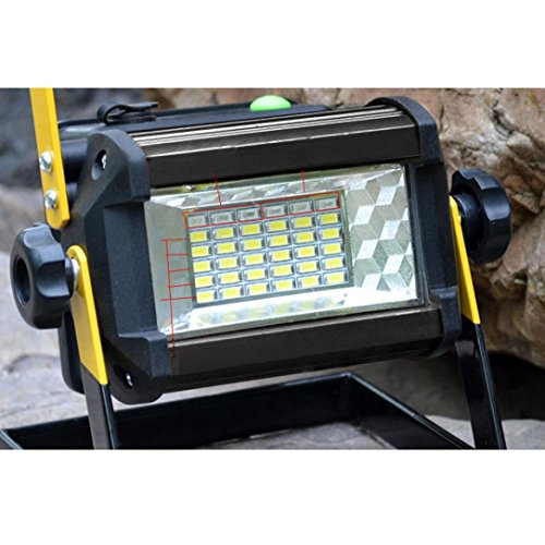 Led Flood Light, Napoo Portable 50W 36 LED Waterproof Rechargeable Worklight Spot Work Lamp Emergency Light For Outdoor Camping, Working, Fishing by Napoo (Image #6)