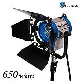 LimoStudio 650 Watt Photography Studio Light Photo Video Film and Television Tungsten Fresnel Continuous Lighting Light Spotlight, AGG1026