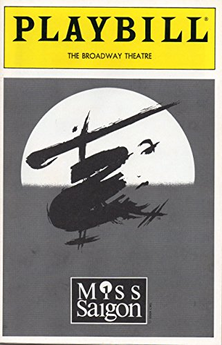 MISS SAIGON Playbill - September 1996 - The Broadway Theatre