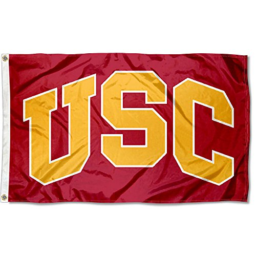 Usc Tailgate Trojans Flag (College Flags and Banners Co. USC Trojans Flag 3x5 Large Banner)