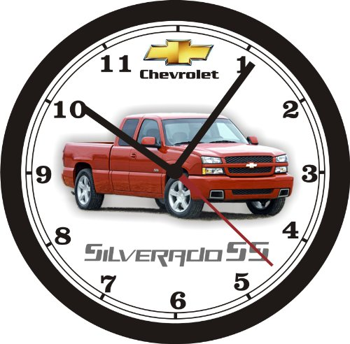 2003 CHEVROLET SILVERADO SS Wall Clock-FREE USA SHIP