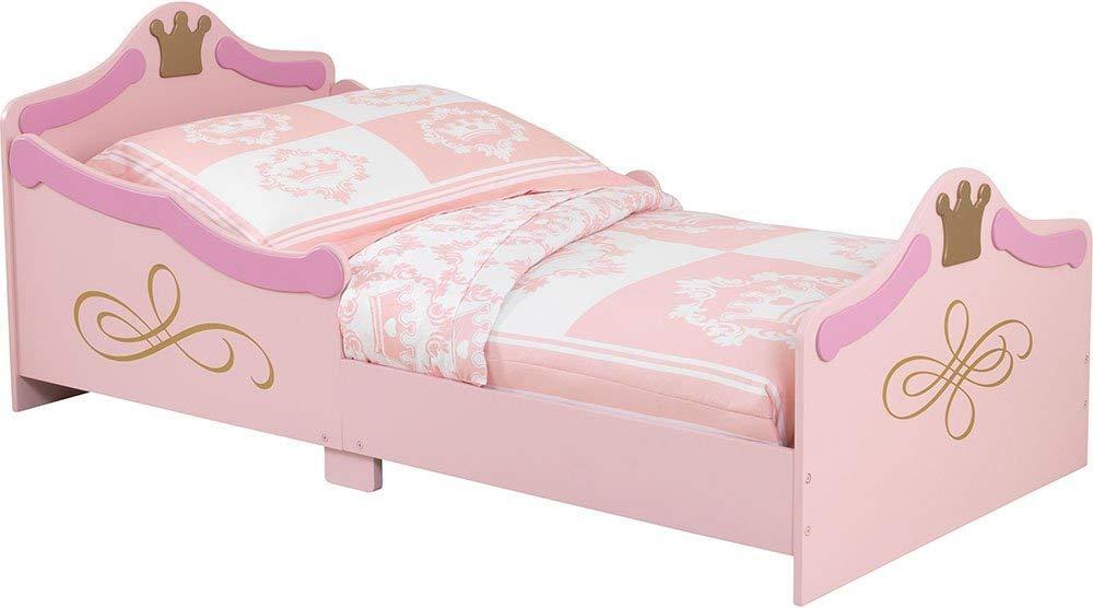 KidKraft 76139 Cama infantil con diseño princesa con marco de madera, muebles para dormitorio de