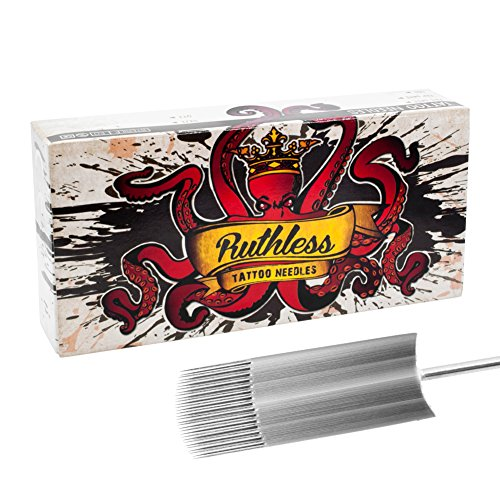 Ruthless Tattoo Needles 9 Curved Magnum (1209M1C) Box of 50