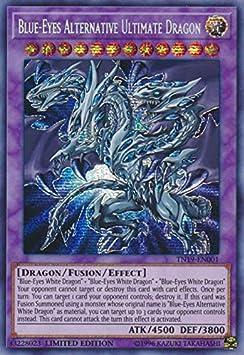 Blue-Eyes Alternative Dragon Starlight Rare Korean Exclusive OCG