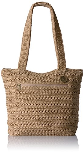 Crochet Hobo Handbag - The Sak The Silverlake Crossbody, Bamboo