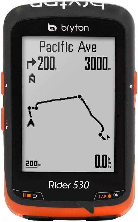 Bryton Rider 530C Velocímetro Computador GPS, Unisex Adulto, Negro ...