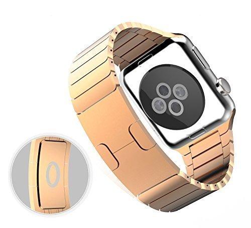 35 opinioni per Per Apple Watch (38mm)- Cinturino Trop Saint®- Bracciale a Maglie in Acciaio