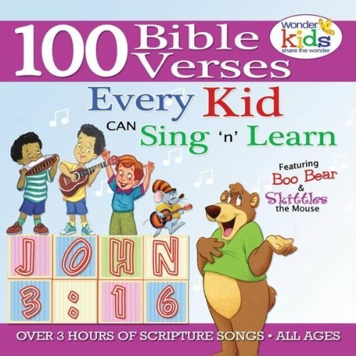 100 Bible Verses Every Kid Can Sing 'N' Learn Ages 2-7 by Wonder Workshop