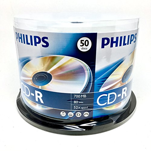 Philips 700MB CD R 50PK Spindle