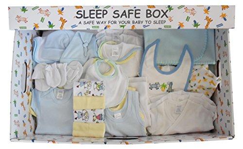 Sleep Safe Baby Box Starter Set (29 Piece, Boy)