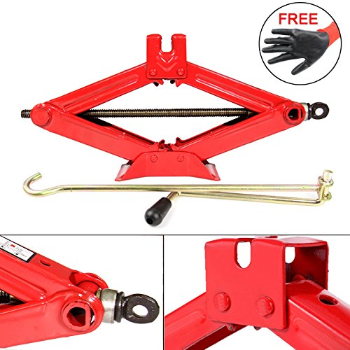 Dr.Roc Premium RustProof Lifting Scissor Jack - 1 Ton(Standard)