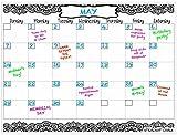 agenda board - Mandala Calendar 2018 Large Magnetic Calendar 16