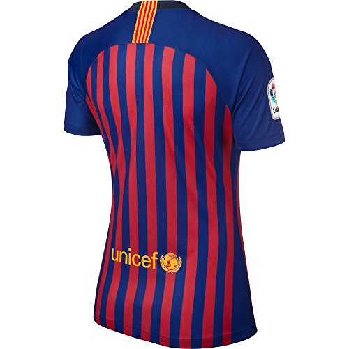 Amazon.com : NIKE FC Barcelona 2018-2019 Ladies Home Soccer Jersey : Sports & Outdoors