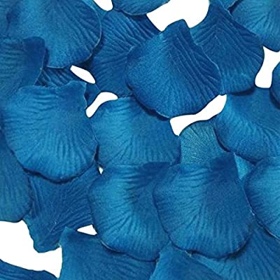 Pack of 1000 Silk Rose Petals, Artificial Flowers for Decoration Wedding Party
