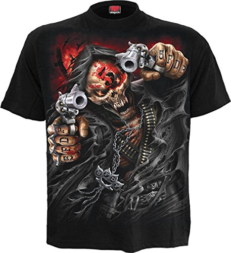 Spiral - Mens - 5FDP - Assassin - Licensed Band T-Shirt Black - ()
