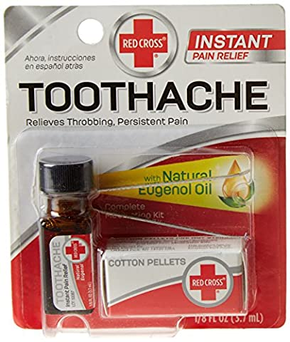 Red Cross Toothache Medication