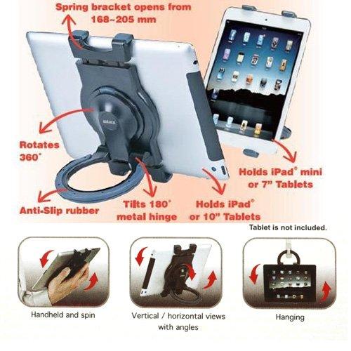 Fonus Brand New High Quality Portable Fold-Up Compact Travel Stand + Universal LCD Touch Screen Stylus Pen for Samsung Galaxy Tab 7 P1000, Galaxy Tab 7 SPH-P100, Galaxy Tab 7 SGH-T849 by Fonus (Image #5)